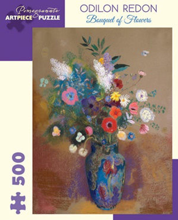 Picture of ODILON REDON: BOUQUET OF FLOWERS 500PC PUZZLE