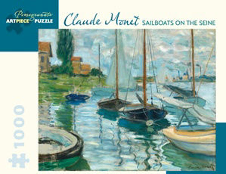 Picture of MONET: SAILBOATS ON THE SEINE 1000PC PUZZLE
