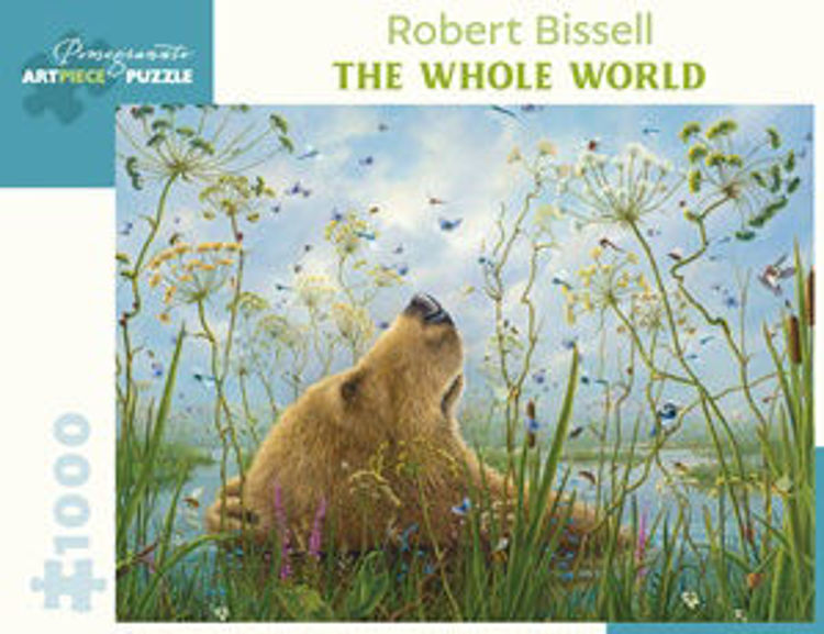 Picture of ROBERT BISSELL: THE WHOLE WORLD 1000PC PUZZLE
