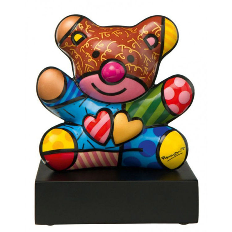 Picture of BRITTO BEAR BROWN/BLUE HEAD